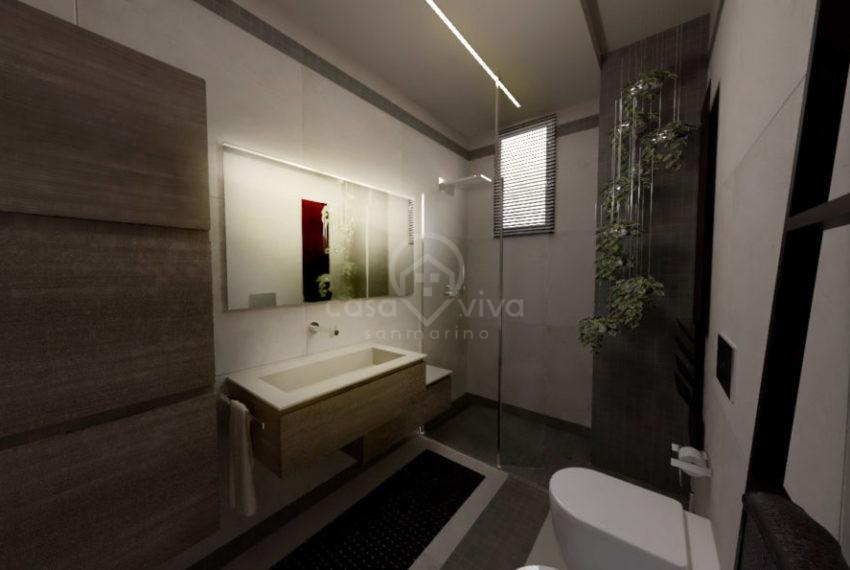 Reendering interno bagno