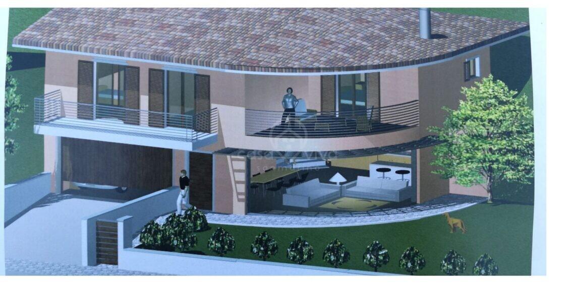 Chiesanuova: progetto di villetta su due piani completamente indipendente !