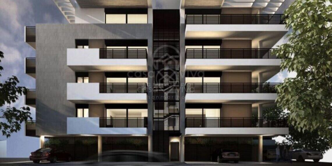 Dogana: nuovo appartamento, Attico, 142.50 mq.