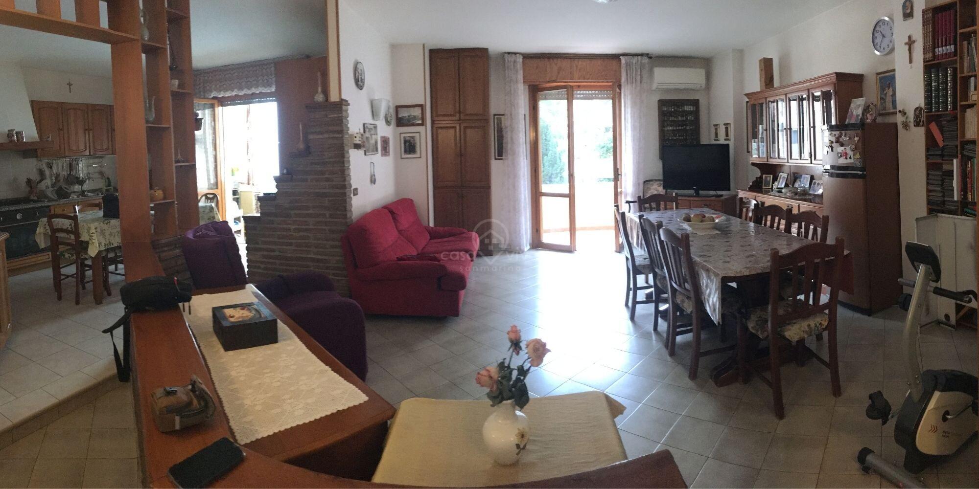 Dogana: ampio appartamento in vendita zona  comoda vicino al parco