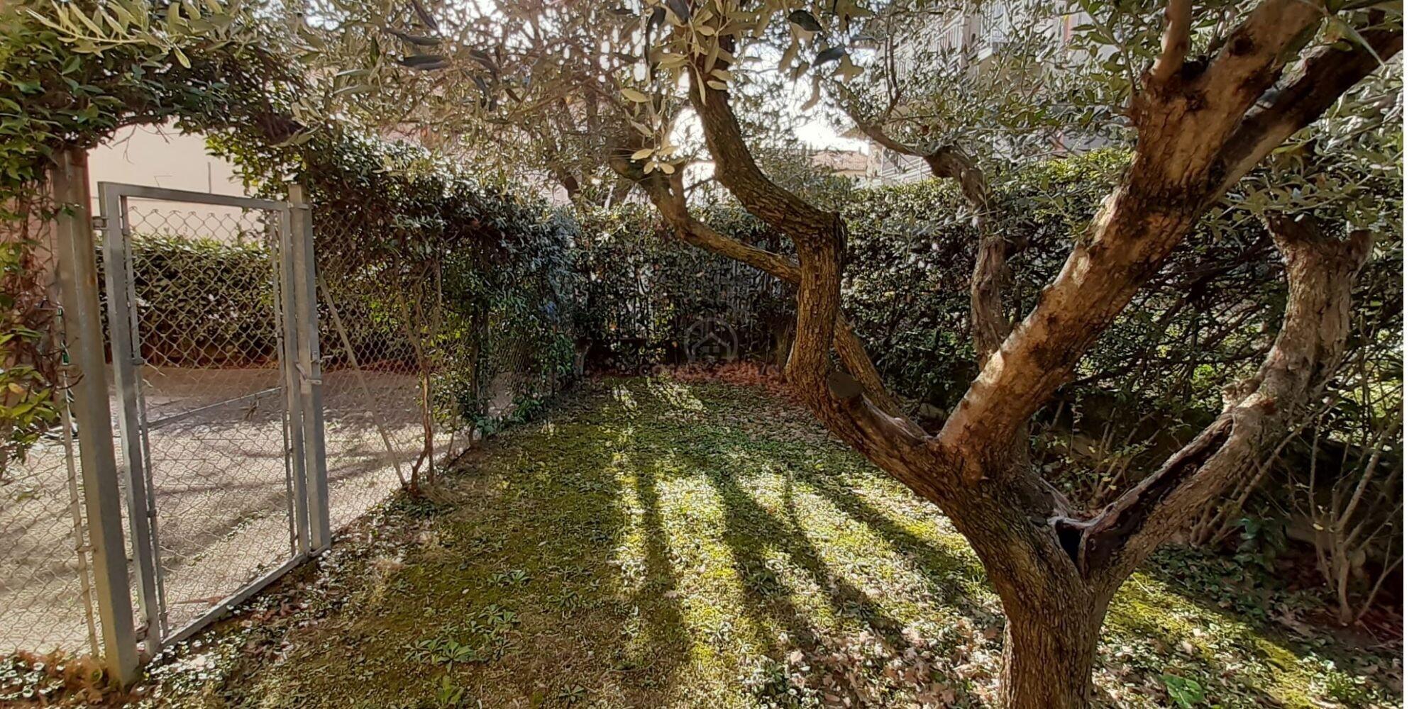 Rovereta: appartamento con giardino in affitto molto carino e accessoriato