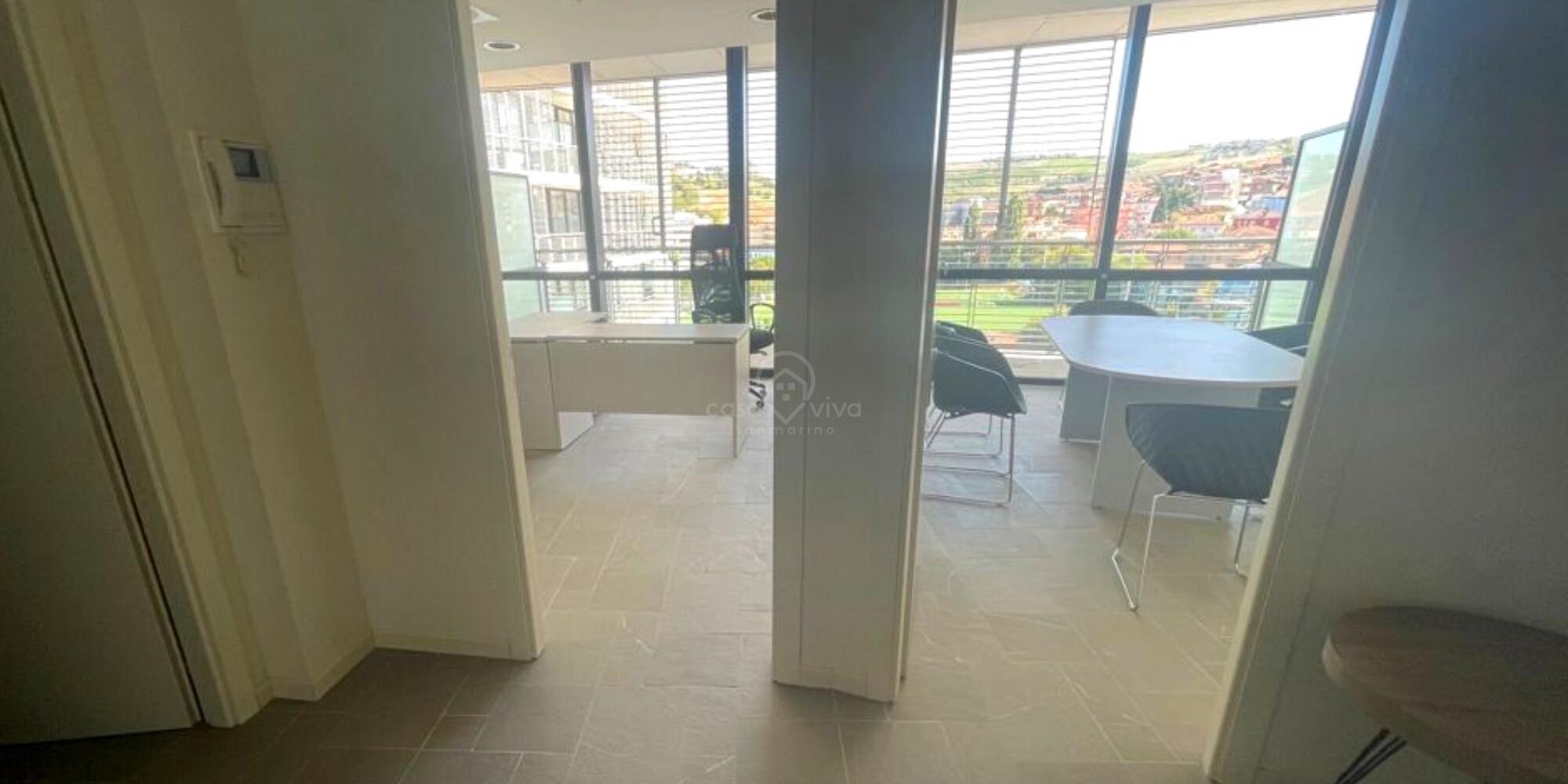Dogana: ufficio 53mq (2 abitabilità) in contesto esclusivo