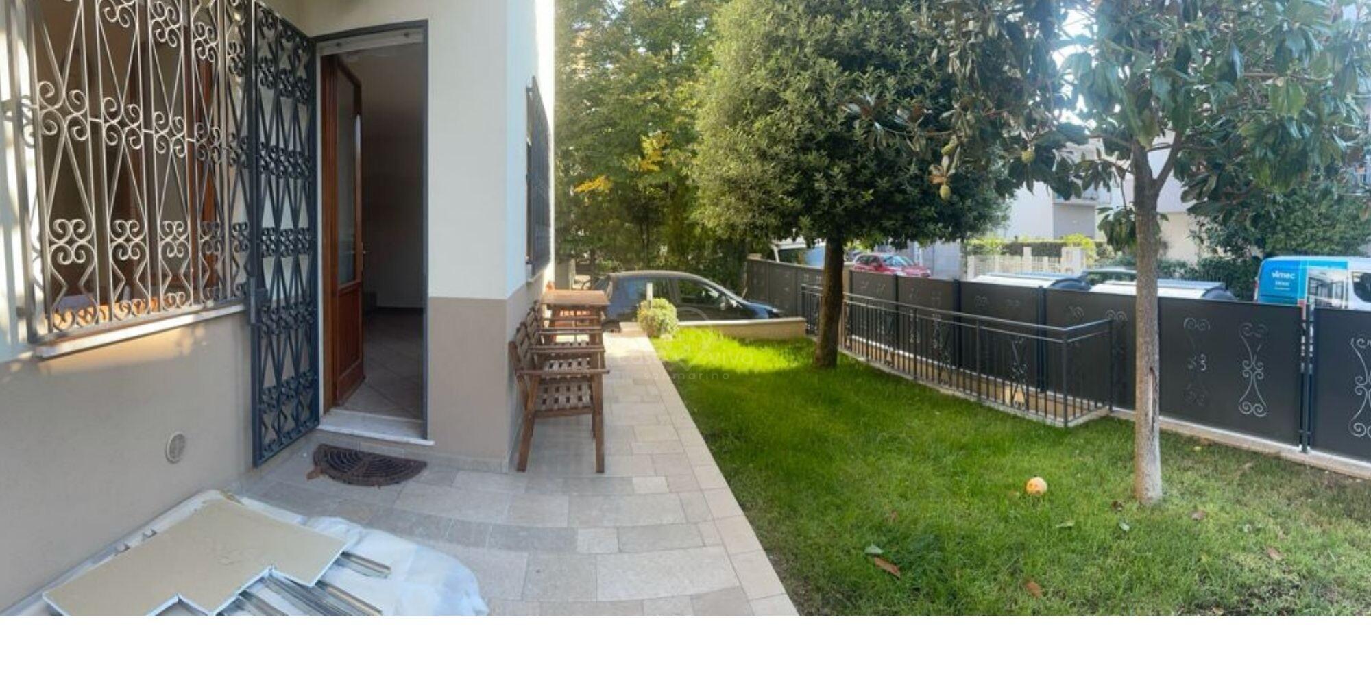 A Rimini, zona via Covignano, in AFFITTO uno splendido appartamento con uso giardino